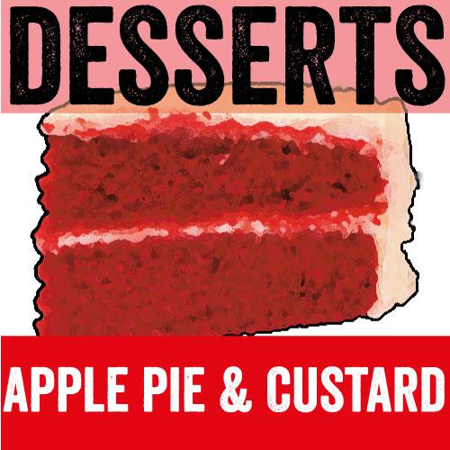 Apple Pie & Custard