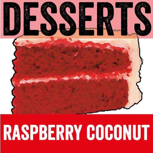Raspberry Coconut